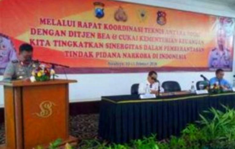 Polda Jatim, Gelar Rakornis Pencegah Peredaran Narkoba