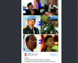 Foto Postingan Roy Suryo Membuat Heboh Netizen