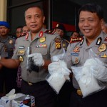 Polda Jambi Amankan 6 Paket Narkotika Seberat  1,442 Kg
