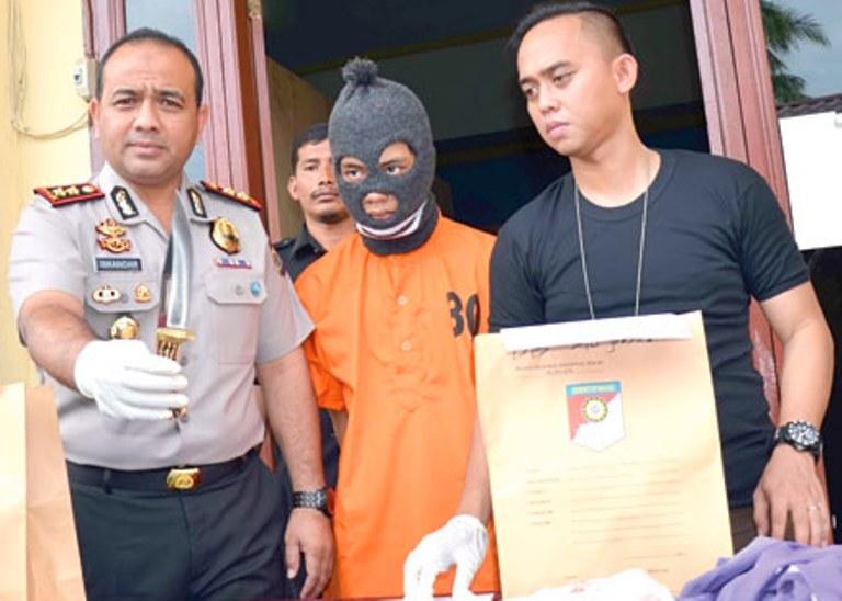 Polres Langsa Tangkap Tersangka Pelaku Pembunuhan Berencana
