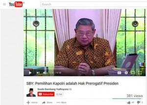 SBY Tak Mau Kalah Dengan Jokowi