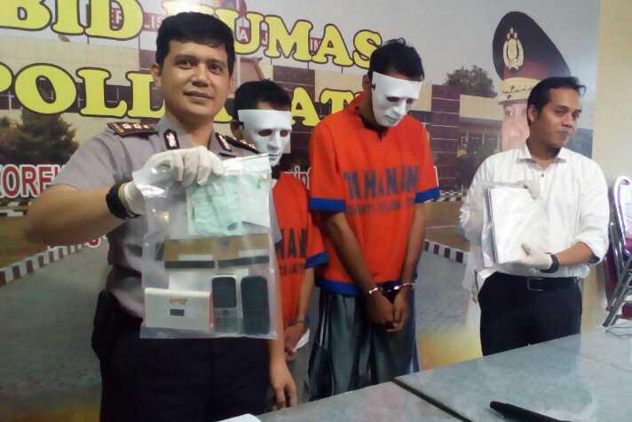 Polda Jatim Ungkap Tindak Pidana Penipuan Secara Online