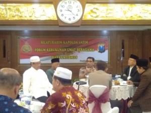 Harkamtibmas, Kapolda Jatim Gelar Acara Silaturahmi