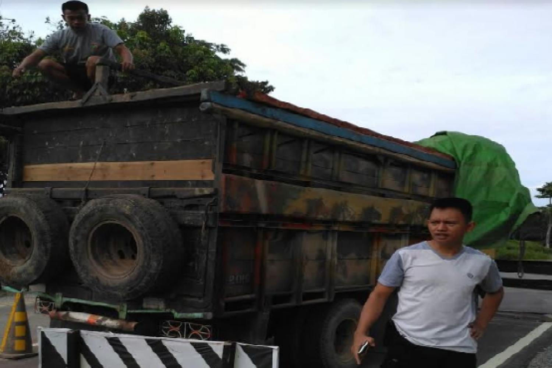 Pelaku illegal logging