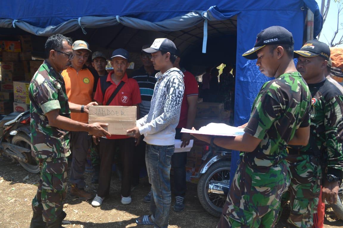 TNI-Polri Kirim Bantuan Ke-14 Desa di Pulau Sapudi