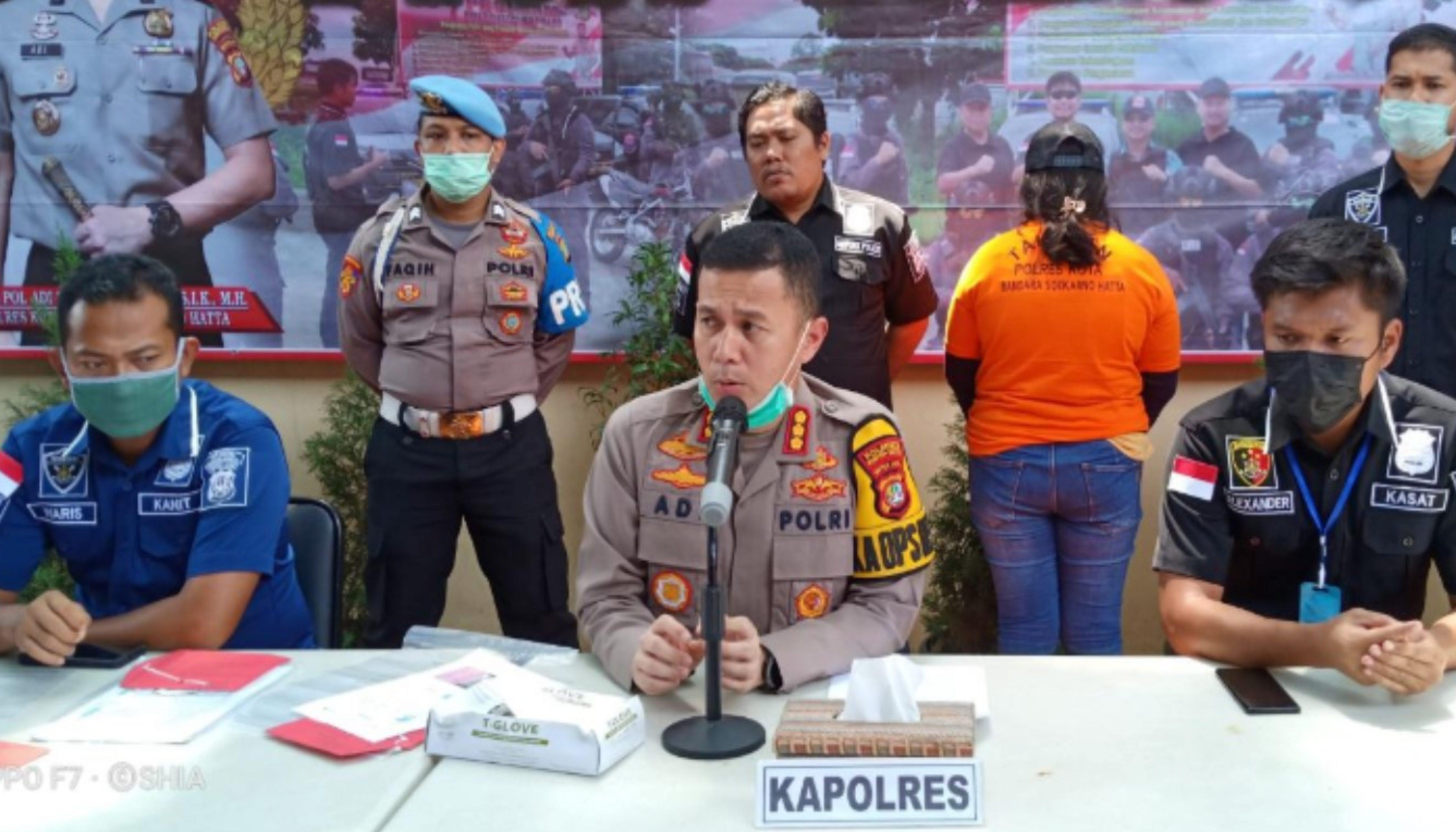 Polresta Bandara Soekarno Hatta Ungkap Kasus Penipuan Dengan Modus