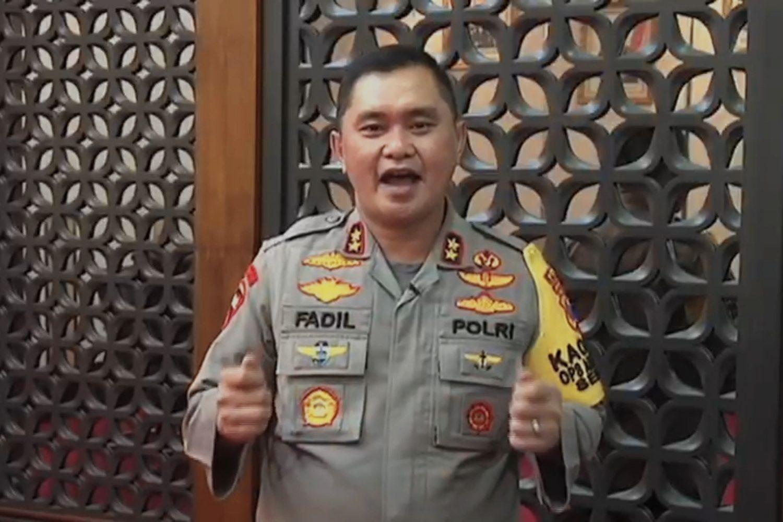 Kapolda Jatim Irjen Pol M. Fadil Imran